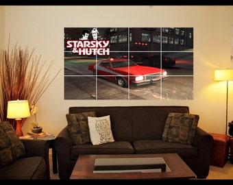 Starsky & Hutch Wall Art Poster