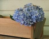 Rustic Cedar Planter Box, Rustic Home Decor, Wedding Centerpiece, Footed Wood Planter Box, Flower Box, Farmhouse Home, Florist Supplies
