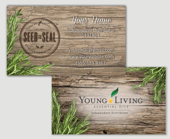 Items similar to Rosemary Barnwood Young Living business