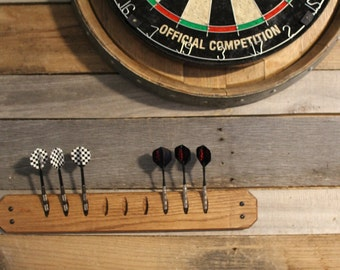 Oak Dart Holder