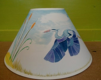 Hand-Painted Lampshade