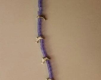 Ocean Blue Dolphin Bracelet