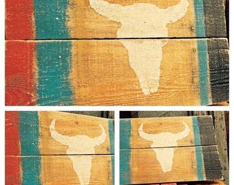 Cow Bone Flag