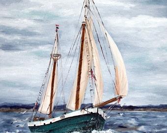 Sailboat - Original