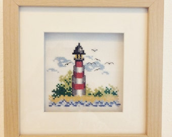 NEW Framed lighthouse