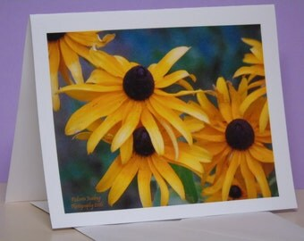 Brown Eyed Susies Blank Note Cards, Suitable for thank you cards, birthday cards or thinking of you cards