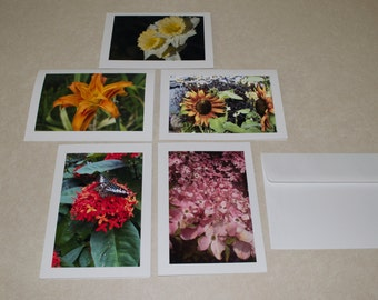 Flower Photo Cards (Blank Greeting Cards)