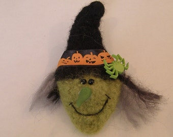 Witch Wool Pin