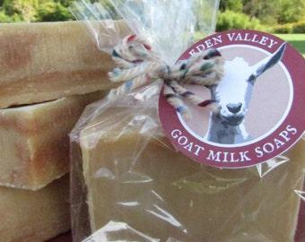 All Natural Peppermint Twist Goat Milk Soap 4 oz.