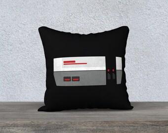 Pillow cover - Nintendo (Black)