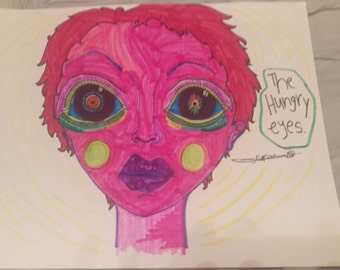 Hungry Eyes (medium)