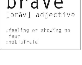 Brave definition | Instant Download