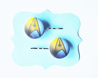Star Trek Trekkie Bobby Pins - Hair Pins