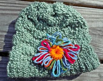 Textured Child's Hat