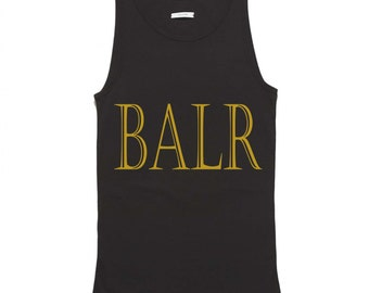 Gold BALR Tank Top FREE SHIPPING
