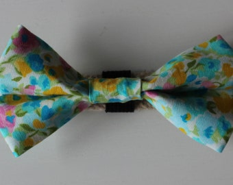Blooming Dog Bow Tie
