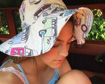 VW Campervan Floppy Sun Hat