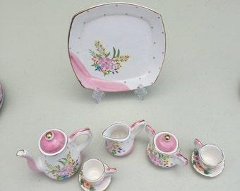 Vintage Mini Teacup Set