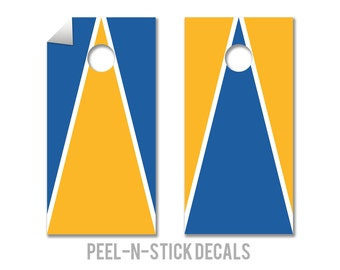 UCLA Colors Cornhole Board Decals