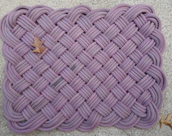 Climbing Rope Rug Made from YOUR rope