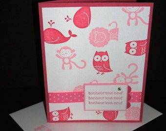Card for baby