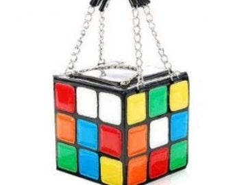 Rubix cube style bag