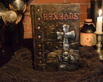 """Halloween Spell Book """"Hexevus"""""""