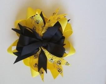 Bee Hair Bow