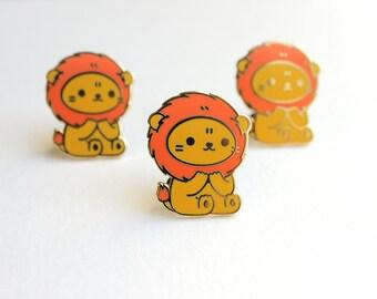 B-Grade Lion Pin