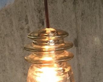Insulator pendant light