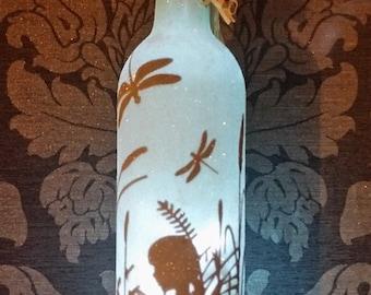 Fairy bottle lamp