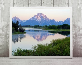 Grand Teton Print, Instant Download, National Park Photography, Wall Print, Home Decor, Wyoming, Wall Art, Travel Prints, Wanderlust