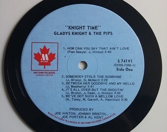 Vinyl Record Magnet - Gladys Knight and The Pips Knight Time