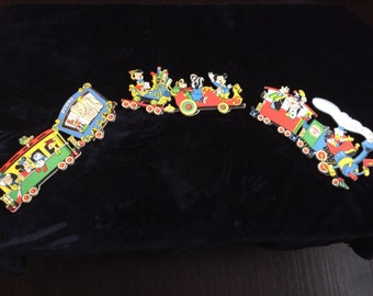 Vintage Walt Disney Casey JR Nursery Wall Decor