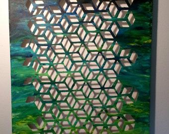 Honeycomb - 3D Shadow Art