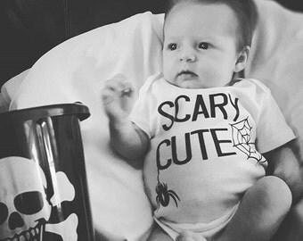 Halloween Scary cute onesie