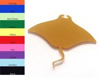 25 Pack - Paper Manta Ray Shape, Manta Ray Die Cut, Manta Ray Cut Outs, Sea Animal Shapes, Paper Supplies