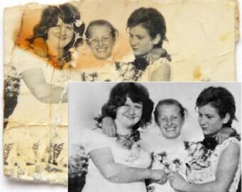 Photo restoration/ Custom photo editing