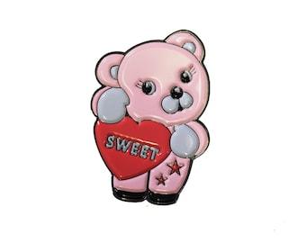 Sweet Bear Enamel Pin