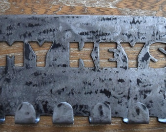 Metal Art Key Rack