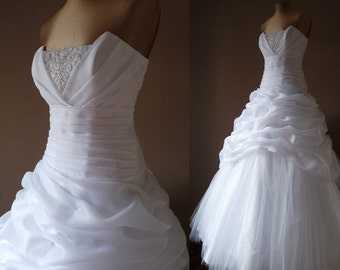 MARIA Organza and tulle wedding dress