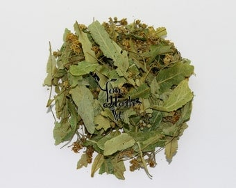 Linden Dried Leaves And Flowers Loose Herbal Tea - Buy Any 2x50g Get 1x50g Free!