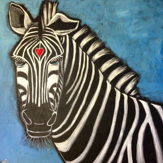 """Painting """"Courageous Heart"""""""