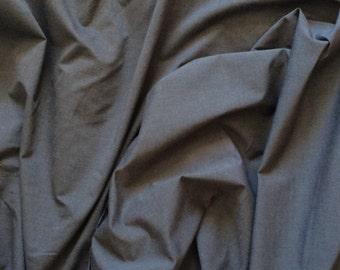 High quality oxford cotton poplin navy/dark grey