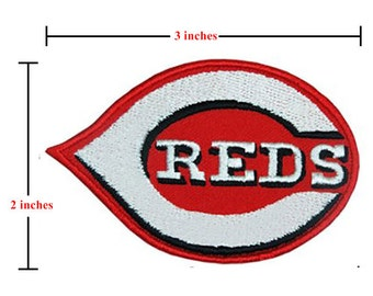 REDS Style-1 Embroidered Iron On Patch