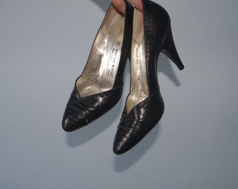 Black Bruno Magli Heels