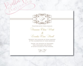 Francesca Wedding Invitation Design