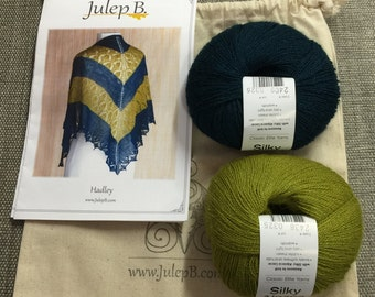 Classic Elite Yarns Hadley Shawl Kit