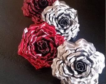 Metal roses!