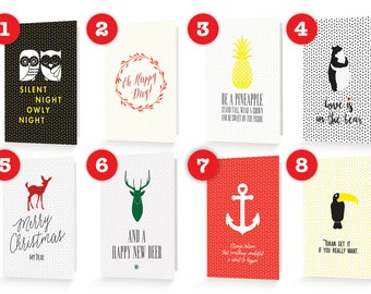 CHOOSE YOUR 5 FAVORITES - 5 greeting cards of your choice #makeawish